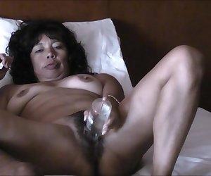 ASIAN WIFE MASTURBATES AND RIDING