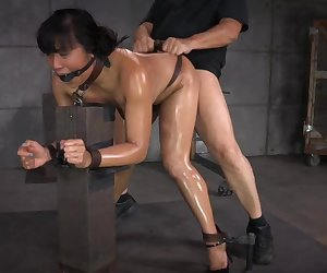 Mia Li Gets Bred by 2 Cocks