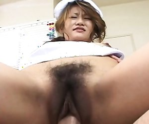 Nurse fucking that wet cunt like a real boss lady