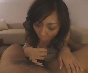 Fabulous Japanese model Natsumi Horiguchi in Crazy Cunnilingus, POV JAV clip
