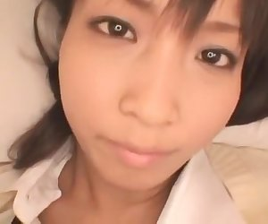 Best Japanese girl in Exotic POV, College JAV video