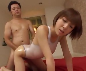 Incredible Japanese whore Yuzu Shiina, Hitomi Kitagawa, Momoka Nishina in Crazy Small Tits, Doggy Style JAV scene